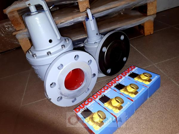 Предохранительные клапана Afriso Duco